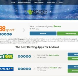 Androidbettingappguide.co.uk new site