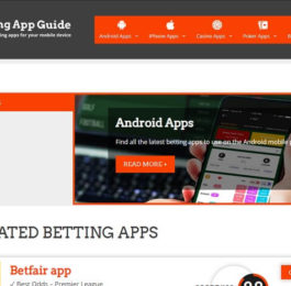 The Betting app guide site