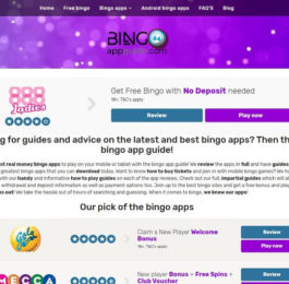 Bingoappguide.co.uk new site
